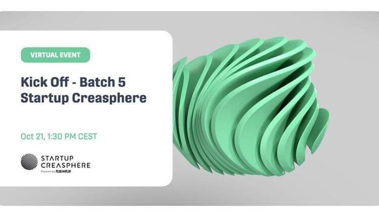 Kick off – Batch 5 Startup Creasphere