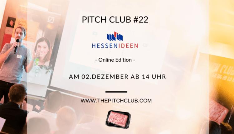 Pitch Club #22 Hessen Ideen Online Edition_2 2